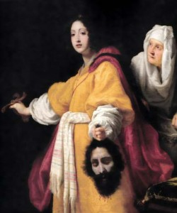 「ホロフェルネスの首を持つユディト」クリストファーノ・アッローリ
