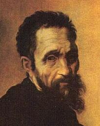 ミケランジェロの自画像