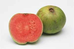 57422020-one-and-a-half-pink-guavas-gettyimages