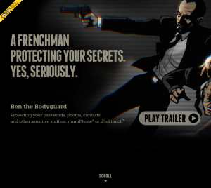Ben the Bodyguard. Protecting your data on iPhone® and iPod touch®