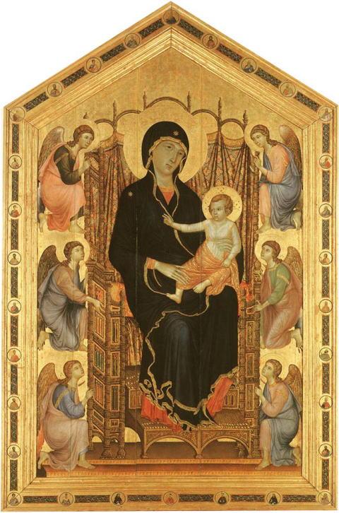 ドゥッチョ「ルチェライの聖母」