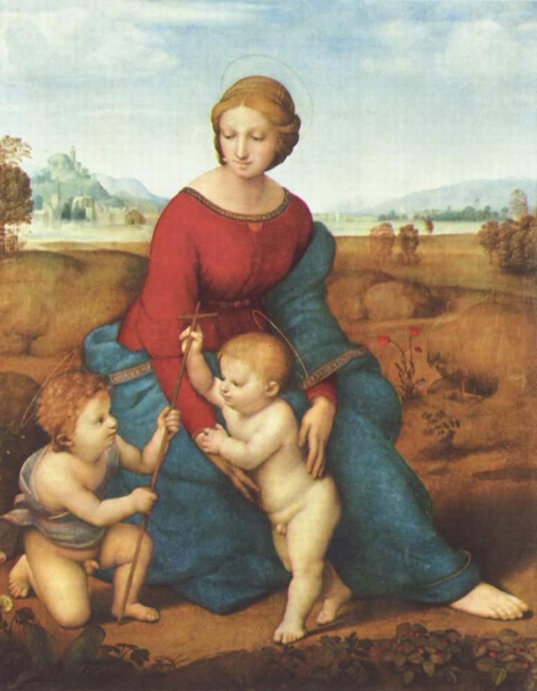 ラファエロ「ベルヴェデーレの聖母」