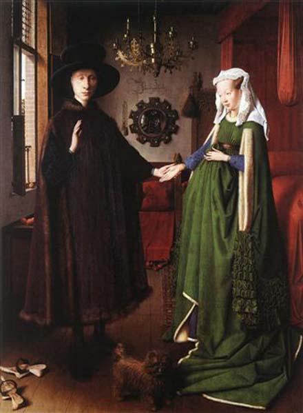 ヤン・ファン・エイク「アルノルフィーニ夫妻の肖像」