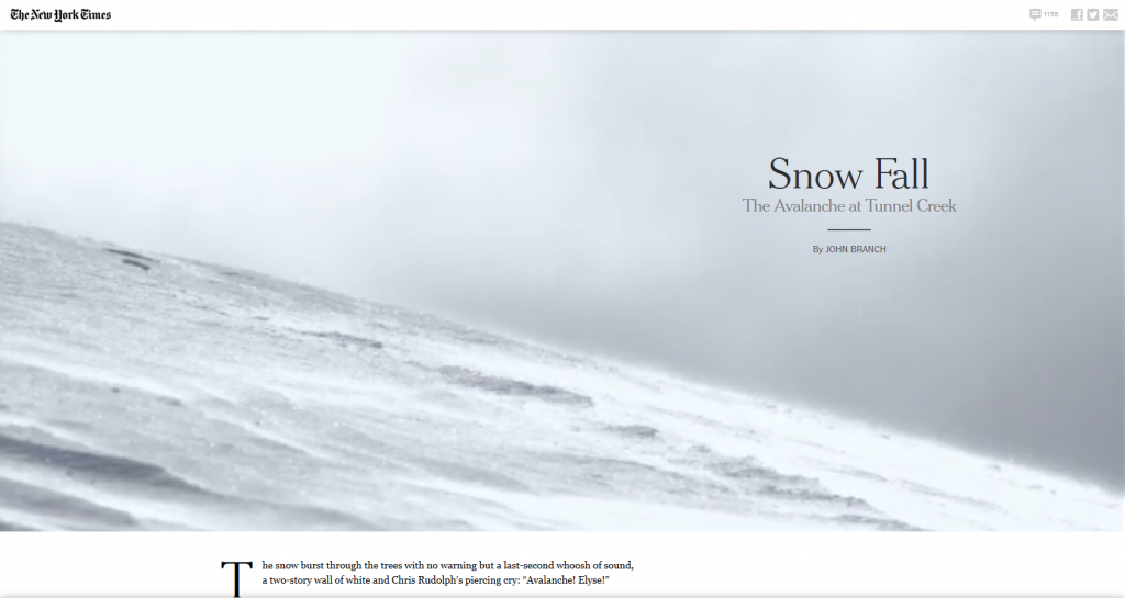 Snow Fall- The Avalanche at Tunnel Creek - Multimedia Feature - NYTimes.com