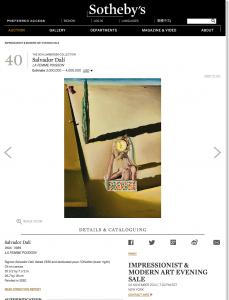 Salvador Dalí | Lot | Sotheby's (20150507)_