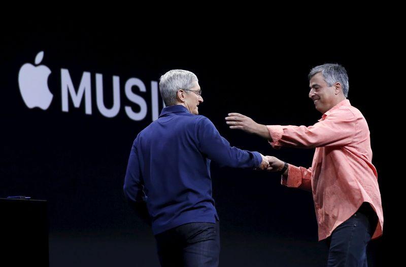 米アップルが新音楽配信サービス発表、月額9.99ドル