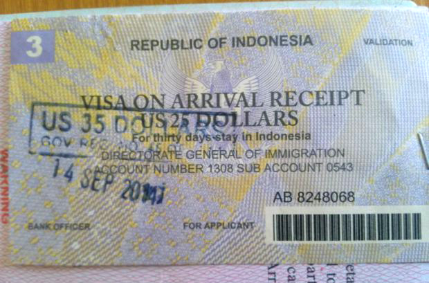 Indonesian-Visa-On-Arrival-Receipt1