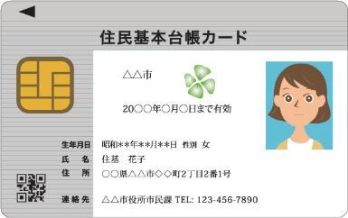 住民基本台帳カード1