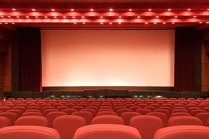【フリー素材】映画館
